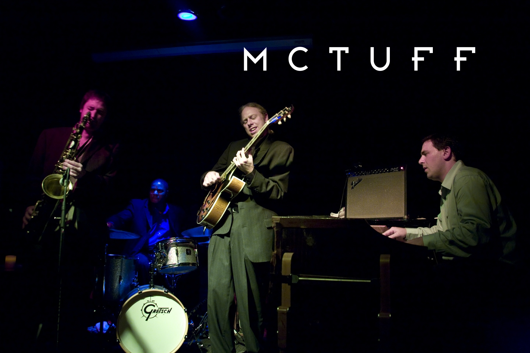 Win Tickets: McTuff Trio feat. Devin Phillips @ Goodfoot Lounge | Hammond Organ Quartet, Jazz